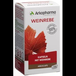 ARKOCAPS Weinrebe Kapseln (150 Stk)