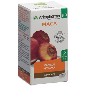 ARKOCAPS Maca Organic Capsules (40 pieces)