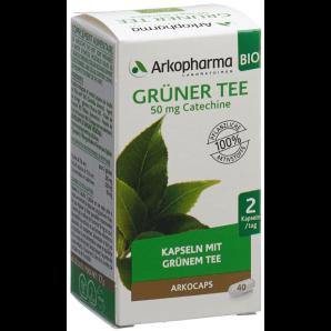 ARKOCAPS Grüner Tee Bio Kapseln (40 Stk)