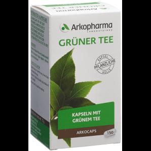 ARKOCAPS Grüner Tee Bio Kapseln (150 Stk)