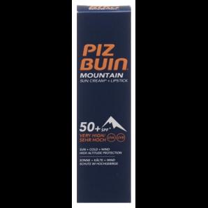 PIZ BUIN Mountain Cream & Lipstick SPF 50 (20ml)