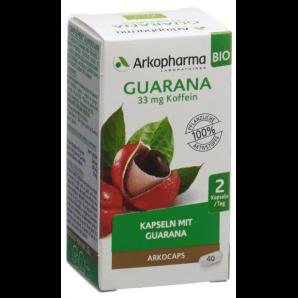 ARKOCAPS Guarana Bio Kapseln (40 Stk)