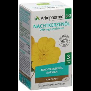 ARKOCAPS Nachtkerzenöl Bio Kapseln (60 Stk)