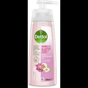 Dettol disinfectant gel hands chamomile & lotus (200ml)