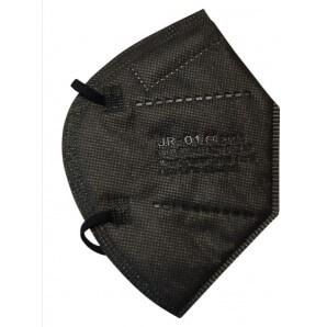 JEBCON FFP2 black respirator mask (30 pieces)