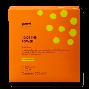 Goovi I Got The Power Tonique Pour Femmes (10x25ml)