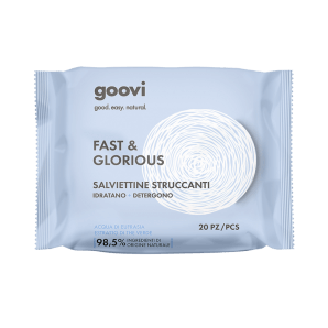 Goovi Fast And Glorious Cleaning Wipes (20 pc)