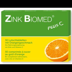 Zinc Biomed Plus C Pastilles Orange (50 pièces)