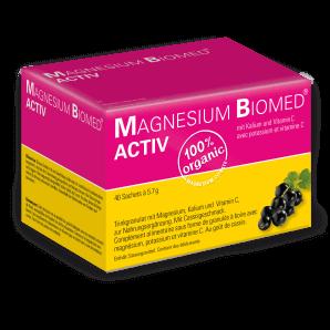 Magnesium Biomed Activ Beutel (40 Stk)