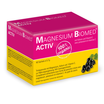 Magnesium Biomed Activ Beutel (40 Pcs)