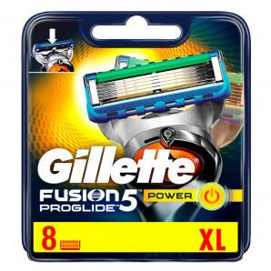 Gillette Fusion5 ProGlide Power Blades (8 pièces)