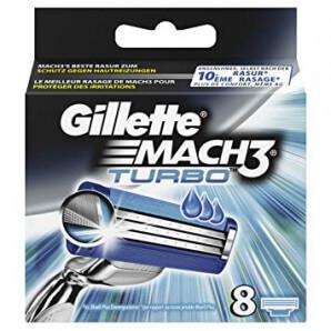 Gilette - Mach 3 Turbo Klingen (8 Stk)