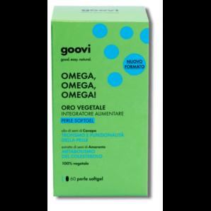 Goovi Omega 3-6-9 Vegetable Gold (60 Pc)