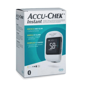 Accu-Chek Instant Blood Glucose Meter Set (10 Tests)
