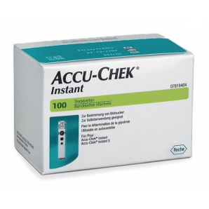 Accu-Chek Instant Test Strips (100 pieces)