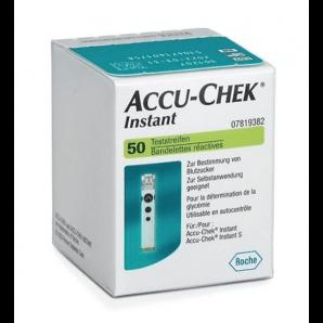 Accu-Chek Instant Des Bandelettes De Test (50 pièces)