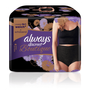 Always Discreet Boutique Le Pantalon D'incontinence Noir M (9 pièces)