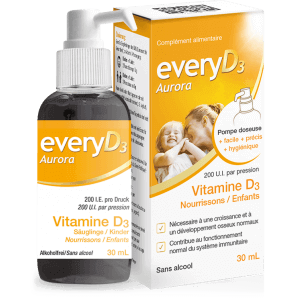 EveryD3 - Aurora 200 I.E. Vitamin D3 Säuglinge/Kinder (40ml)