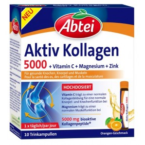 Abtei Active Collagen 5000 (10 ampoules)