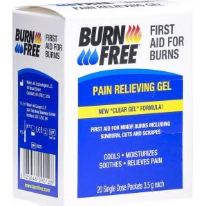 BURNFREE Pain Relief Gel Bags (20 x 3.5g)