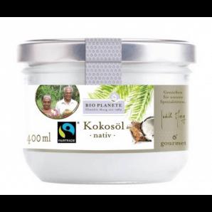 BIO PLANETE De I'huile De Coco Nativ Fairtrade (400ml)