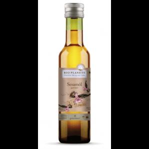 BIO PLANETE De I'huile De Sésame Torréfiée Nativ Fairtrade (250ml)