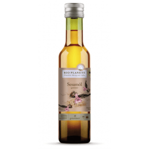 BIO PLANETE Sesame Oil Roasted Nativ Fairtrade (250ml)