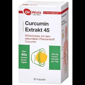 Dr. Wolz Curcumin Extrakt 45 Kapseln (90 Stk)