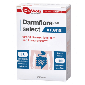 Dr. Wolz Darmflora plus select intens Kapseln (80 Stk)