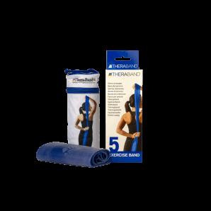Theraband blau extra stark 2.5m x 12.7cm (1 Stk)