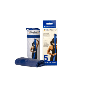 Theraband blue extra strong 2.5m x 12.7cm (1 piece)