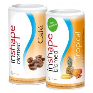 InShape Biomed Café & Tropical Kombi (2x420g)