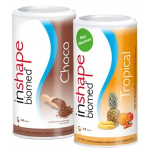 InShape Biomed Choco & Tropical Kombi (2x420g)