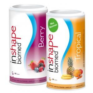 InShape Biomed Berry & Tropical Kombi (2x420g)