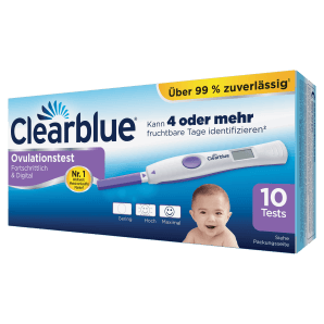 Clearblue - Ovulationstest Fortschrittlich & Digital (10 Stk)
