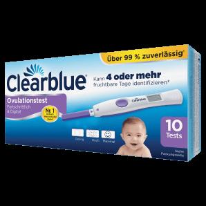 Clearblue - Ovulationstest Fortschrittlich & Digital (10 Stk)