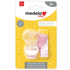 Medela Baby Pacifier Chain Pink (1 pc)