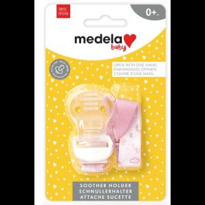Medela Baby Schnullerkette Rosa (1 Stk)
