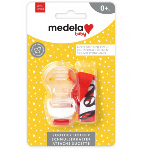 Medela Baby Pacifier Chain Red (1 pc)