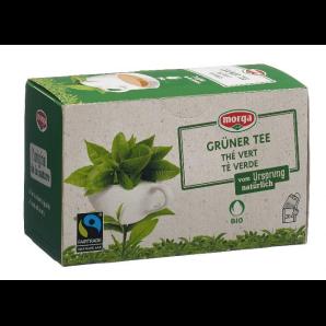 Morga Des Sachets De Thé Vert Bio Fairtrade (20 pièces)