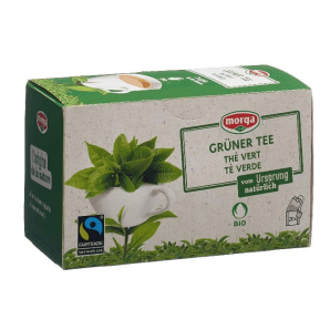 Morga Green Tea Bags Organic Fairtrade (20 pieces)