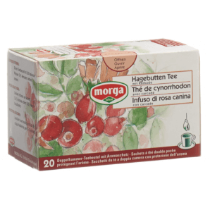 Morga Rose Hip Tea Bags Bio (20 pieces)