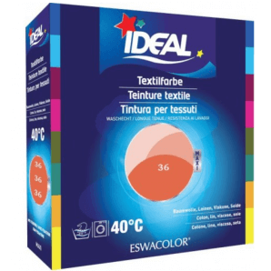 IDEAL Fabric Dye Coral 36 Maxi (400g)