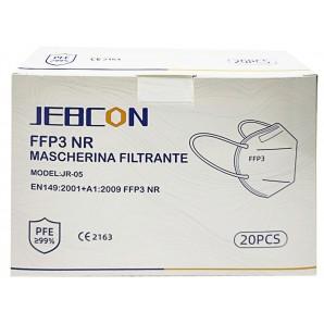 JEBCON FFP3 respirator mask without valve (20 pieces)