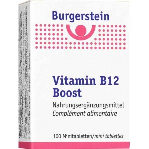 Burgerstein Vitamin B12 Boost tablets (100 pieces)
