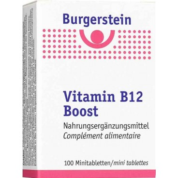 Burgerstein Vitamin B12 Boost Tabletten (100 Stk)