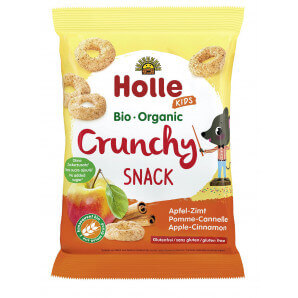 Holle - Crunchy Snack Apfel Zimt (25g)