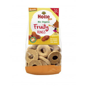 Holle - Fruity Rings mit Datteln (125g)