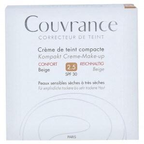 Avène COUVRANCE Kompakt-Make-Up Reichhaltig Beige 2.5 (10g)