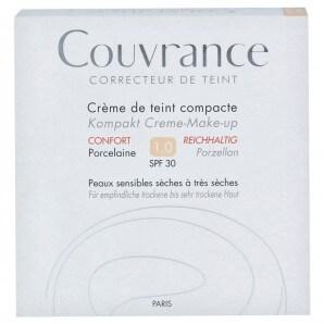 Avène COUVRANCE Kompakt-Make-Up Reichhaltig Porzellan 1.0 (10g)